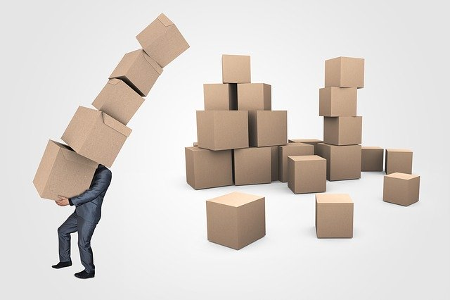 Businessman Boxes Transport  - Mediamodifier / Pixabay